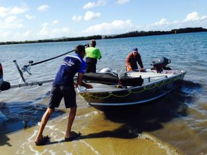 cabbage tree point store - boat hire - launch boat